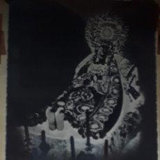 Fotografía antigua: ANTIGUO CLICHE DE NUESTRA SEÑORA DEL TRÁNSITO ZAMORA NEGATIVO EN CRISTAL. Lote 135536546