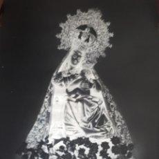 Fotografía antigua: ANTIGUO CLICHE DE NUESTRA SEÑORA DEL PUERTO PLASENCIA CACERES NEGATIVO EN CRISTAL. Lote 135537102