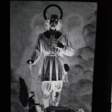 Fotografía antigua: ROTA CÁDIZ ANTIGUO CLICHÉ DE SAN ISIDRO LABRADOR NEGATIVO EN CRISTAL. Lote 135668615
