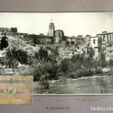 Fotografía antigua: 30 FOTOGRAFÍAS DE ALBARRACÍN DEL FOTÓGRAFO LÓPEZ SEGURA, FIRMADAS. OBSEQUIO A FRANCO. TERUEL.. Lote 135811634
