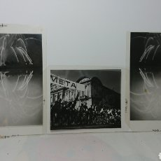 Fotografía antigua: NEGATIVOS DE FOTOGRAFÍAS REALIZADAS POR CURRO VOLTA, FIESTAS PEREGRINA PONTEVEDRA 1981. Lote 136154934