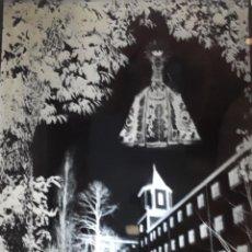 Fotografía antigua: ANTIGUO CLICHÉ DE NUESTRA SEÑORA DEL CASTAÑAR BÉJAR SALAMANCA NEGATIVO EN CRISTAL. Lote 136313314