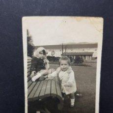Fotografía antigua: ANTIGUA FOTOGRAFÍA PEQUEÑO FORMATO YESTE ALBACETE 1930. Lote 136720670