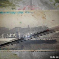 Fotografia antica: TRAINERA PEDREÑA. 1945. LA CONCHA . SAN SEBASTIAN. SANTANDER. FRANCO. BILBAO. REGATA. Lote 136827642