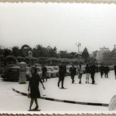 Fotografía antigua: FOTO ANTIGUA ORIGINAL E INEDITA. VISTA DE JARDINES. MEDIDAS 100 MM X 70 MM.. Lote 137156862