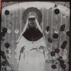 Fotografía antigua: ANTIGUO CLICHÉ DE SANTA RITA MEDINA DE LAS TORRES BADAJOZ NEGATIVO EN CRISTAL. Lote 137243254
