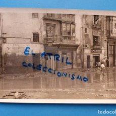 Fotografía antigua: ANTIGUA FOTOGRAFIA VALENCIA - RIADA DE 1957 - FOTO E. UTRILLA - CALLE PINTOR SOROLLA. Lote 137542066