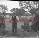 Fotografía antigua: SALAMANCA, FABRICACION CISCO DE ENCINA 1930 - FOTOGRAFIA ANTIGUA - NEGATIVO DE CELULOIDE. Lote 137760510