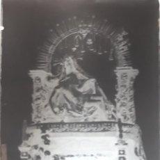 Fotografía antigua - ANTIGUO CLICHÉ DE NUESTRA SEÑORA DE LA PIEDAD SANTA OLALLA TOLEDO NEGATIVO EN CRISTAL - 137940946