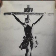Fotografía antigua: ANTIGUO CLICHÉ DEL SANTÍSIMO CRISTO DE LA EXPIRACIÓN ( EL CACHORRO) SEVILLA NEGATIVO EN CRISTAL. Lote 137942042