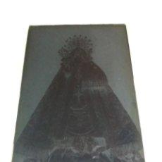 Fotografía antigua: ORIHUELA ALICANTE NTRA SRA DE MONTSERRAT MONSERRATE ANTIGUO CLICHÉ NEGATIVO EN VIDRIO. Lote 137944790