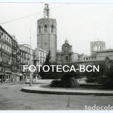 Fotografia antiga: FOTO ORIGINAL VALENCIA PLAZA DE LA REINA VISTA DEL MIQUELET SEGRE AÑOS 60. Lote 138097378