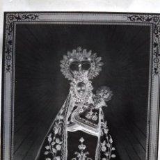 Fotografía antigua: MACEDA ORENSE ANTIGUO CLICHÉ DE NTRA SRA DE LOS MILAGROS NEGATIVO EN CRISTAL. Lote 138707478