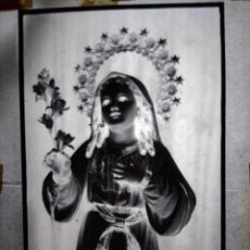 Fotografía antigua: ANTIGUO CLICHÉ DE NIÑA MARÍA SAN FERNANDO CÁDIZ NEGATIVO EN CRISTAL. Lote 138892458