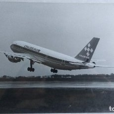 Fotografía antigua: FOTOGRAFÍA AVIÓN AIRBUS A300 CRUZEIRO. Lote 139659142
