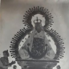 Fotografía antigua: ANTIGUO CLICHÉ DE NUESTRA SEÑORA DE LA CABEZA ANDUJAR JAEN NEGATIVO EN CRISTAL. Lote 139769970