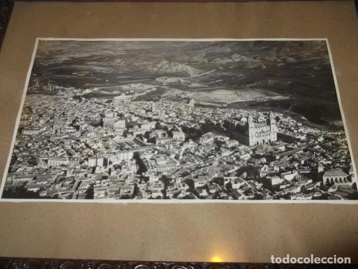 Fotografía antigua: Antigua fotografía Jaén. Enmarcada. - Foto 2 - 139910762