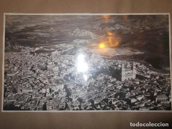 Fotografía antigua: Antigua fotografía Jaén. Enmarcada. - Foto 3 - 139910762
