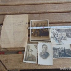 Fotografía antigua: FOTO FOTOGRAFIA LOTE DE 5 FOTOS GUERRA CIVIL UNA MARCADA DON BENITO 1939. Lote 139943710