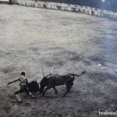 Fotografía antigua: FOTOGRAFÍA PLAZA DE TOROS ALGECIRAS. 1938. Lote 140545994