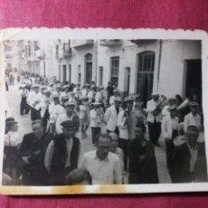 Fotografía antigua: AGULLENT VALENCIA , FOTO ANTIGUA, FIESTAS. Lote 140607848