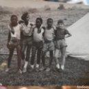 Fotografía antigua: ANTIGUA FOTOGRAFIA GRUPO DE NIÑOS EN GUINEA ECUATORIAL. Lote 140945690