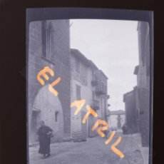 Fotografía antigua: CATI, CASTELLON - VISTA - CLICHE NEGATIVO EN CELULOIDE - AÑOS 1940-50. Lote 141307682