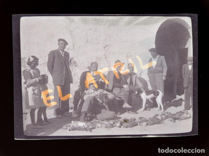 MORELLA, CASTELLON - VISTA - CLICHE NEGATIVO EN CELULOIDE - AÑOS 1940-50 (Fotografía Antigua - Fotomecánica)