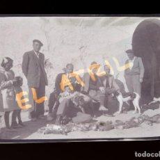 Fotografía antigua: MORELLA, CASTELLON - VISTA - CLICHE NEGATIVO EN CELULOIDE - AÑOS 1940-50. Lote 141308686