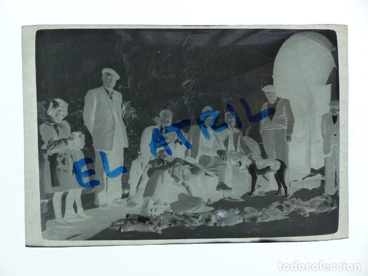 Fotografía antigua: MORELLA, CASTELLON - VISTA - CLICHE NEGATIVO EN CELULOIDE - AÑOS 1940-50 - Foto 2 - 141308686