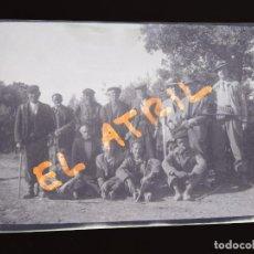 Fotografía antigua: MORELLA, CASTELLON - VISTA - CLICHE NEGATIVO EN CELULOIDE - AÑOS 1940-50. Lote 141308886