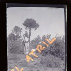 Fotografía antigua: MORELLA, CASTELLON - VISTA - CLICHE NEGATIVO EN CELULOIDE - AÑOS 1940-50. Lote 141309010