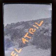 Fotografía antigua: MORELLA, CASTELLON - VISTA - CLICHE NEGATIVO EN CELULOIDE - AÑOS 1940-50. Lote 141309098