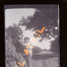 Fotografía antigua: MORELLA, CASTELLON - VISTA - CLICHE NEGATIVO EN CELULOIDE - AÑOS 1940-50. Lote 141309154