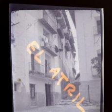 Fotografía antigua: MORELLA, CASTELLON - VISTA - CLICHE NEGATIVO EN CELULOIDE - AÑOS 1940-50. Lote 141311010