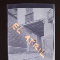 Fotografía antigua: MORELLA, CASTELLON - VISTA - CLICHE NEGATIVO EN CELULOIDE - AÑOS 1940-50. Lote 141311130