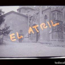 Fotografía antigua: MORELLA, CASTELLON - VISTA - CLICHE NEGATIVO EN CELULOIDE - AÑOS 1940-50. Lote 141311314