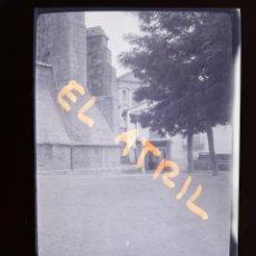 Fotografía antigua: MORELLA, CASTELLON - VISTA - CLICHE NEGATIVO EN CELULOIDE - AÑOS 1940-50. Lote 141311390