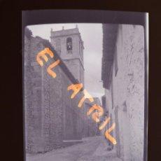 Fotografía antigua: CATI, CASTELLON - VISTA - CLICHE NEGATIVO EN CELULOIDE - AÑOS 1940-50. Lote 141311430