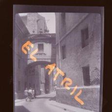 Fotografía antigua: VALENCIA - CALLE BARCHILLA - CLICHE NEGATIVO EN CELULOIDE - AÑOS 1940-50. Lote 141457338