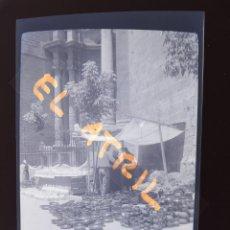 Fotografía antigua: VALENCIA - MERCADO DE LA ESCURAETA - CLICHE NEGATIVO EN CELULOIDE - AÑOS 1940-50. Lote 141458066