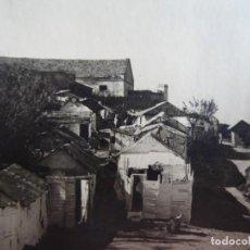 Fotografía antigua: FOTOGRAFÍA CASAS DE PESCADORES. ALGECIRAS 1938. Lote 141511890