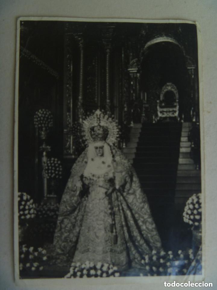 SEMANA SANTA DE SEVILLA : FOTO DE LA MACARENA , DE HARETON. (Fotografía Antigua - Fotomecánica)