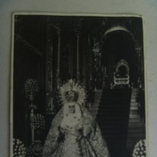 Fotografía antigua: SEMANA SANTA DE SEVILLA : FOTO DE LA MACARENA , DE HARETON.. Lote 142573870