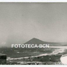 Fotografía antigua: FOTO ORIGINAL DESEMBOCADURA DEL RIO MIÑO GALICIA AÑOS 60. Lote 142648458