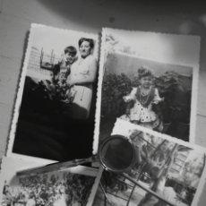 Fotografía antigua: LOTE DE 4 FOTOGRAFIAS INFANTILES, JUGANDO, ALICANTE 1970. Lote 142804426