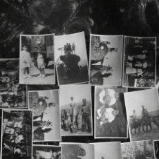 Fotografía antigua: LOTE DE 14 FOTOGRAFIAS DE SORIA Y PROVINCIA, AÑO 1952, ENCUENTRO FAMILIAR.. Lote 142821434