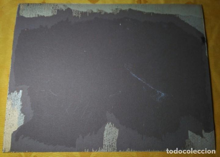 Fotografía antigua: Fotografía firmada a mano por - Vista catedral de Santiago - Ksado. Buen tamaño 38'5 x 29 cm. - Foto 4 - 142823078
