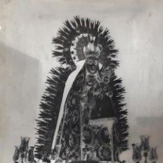Fotografía antigua: ANTIGUO CLICHÉ DE NUESTRA SEÑORA DE LA CONSOLACION CASTELLAR JAEN NEGATIVO EN CRISTAL. Lote 143012066