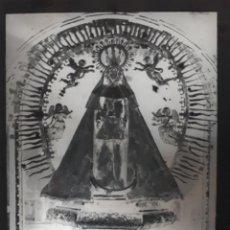 Fotografía antigua: ANTIGUO CLICHÉ RECUERDO DE NUESTRA SEÑORA DE LAS ERMITAS O BOLO ORENSE NEGATIVO EN CRISTAL. Lote 143013394